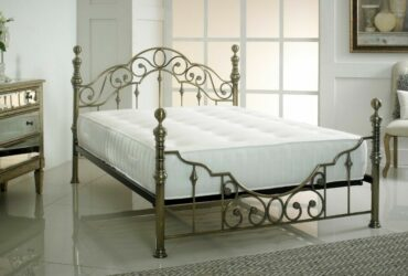 "NEW Brass Bed Frame 4ft 6""/ 5ft"