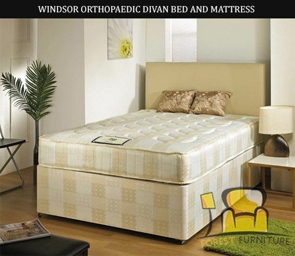 50% OFF – LUXURY SINGLE DOUBLE SMALL DOUBLE KINGSIZE DIVAN BED BASES WITH MATTRESS OF CHOICE NEXTDAY