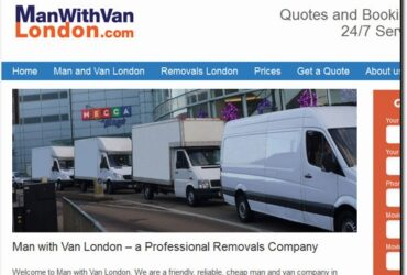 Man with van London-Removals