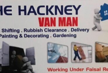 Cheapest man with a van –removal service in hackney from £15/hour