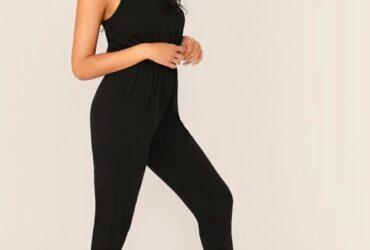V-Neck Cami Jumpsuit