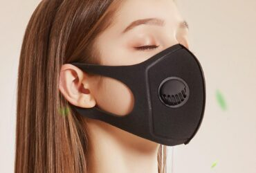 PM2.5 Filtration Rate 92.5% Antibacterial Mask – Black