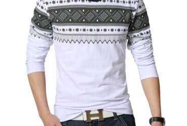 Male cotton t-shirt