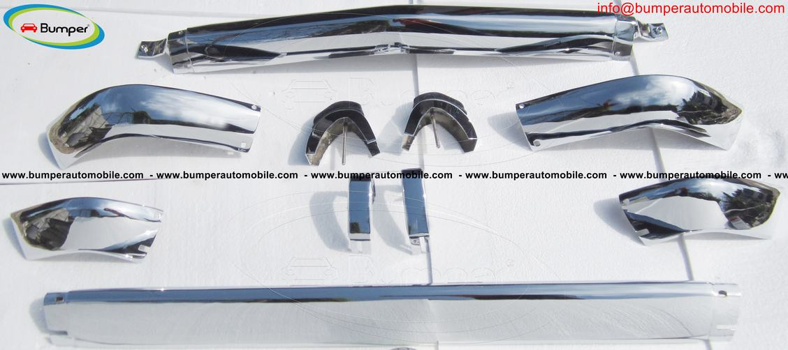 Private: BMW 2002 bumper (1968-1971) by stainless steel