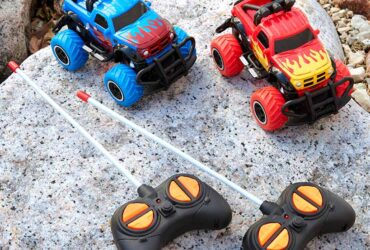 Remote Control Mini Monster Trucks
