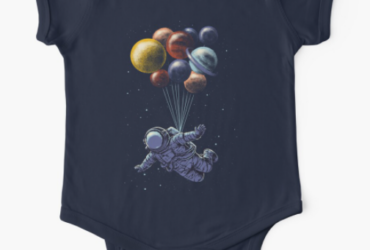 Space Travel Baby One-Piece