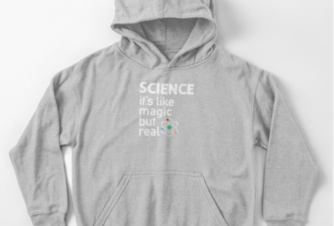 SCIENCE: It & Like Magic, But Real Kids Pullover Hoodie