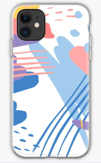 abstract watercolor rainbow iPhone Case &  Cover
