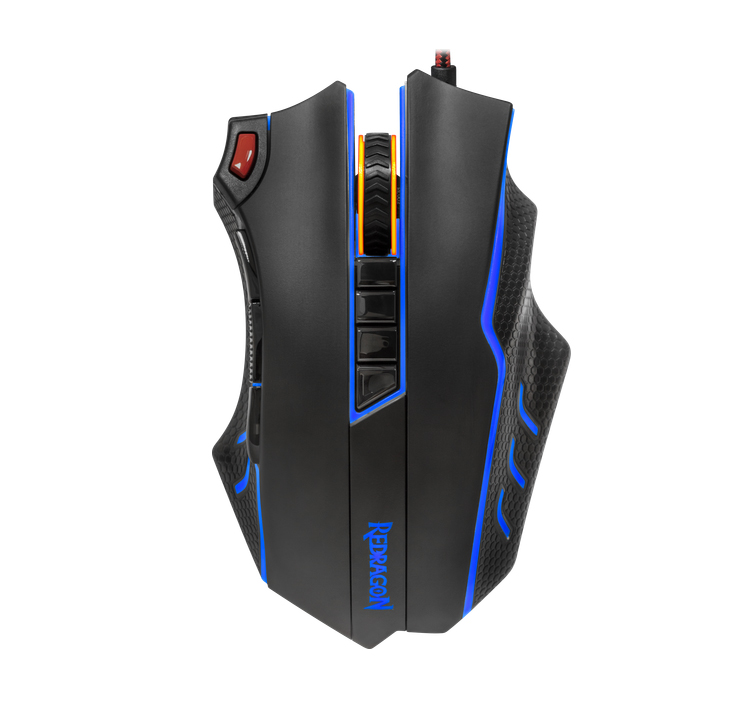 Excellent High Speed Redragon 12000 DPI Optical TITANOBOA 2 M802 GAMING MOUSE