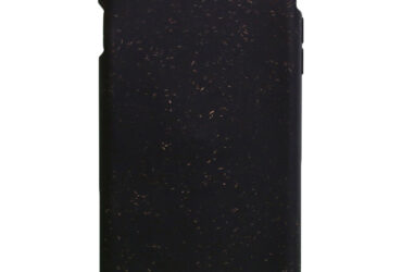 Compostable Black iPhone Pela Case