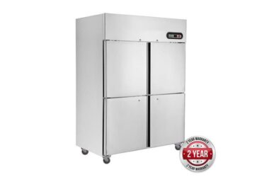 SUC1000 TROPICAL Thermaster 4×½ door SS Fridge