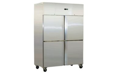 SN1000TNM Grand Ultra Split 4 Door Upright S/S Fridge 1000L