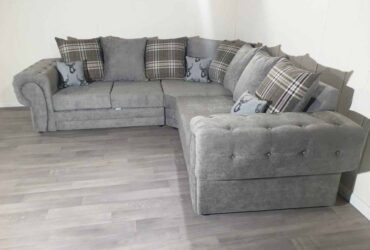 BRANDED VERONA CORNER SOFA IMPORTED FROM ITALY AVAILABLE IN 3+2 SOFA SET AS WELL