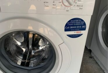 Bosch washing machine 6kg 1200rpm full Working very nice 3 months warranty free delivery ?