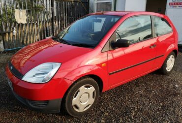 2004 Ford Fiesta 1.25 Finesse 3d – £500