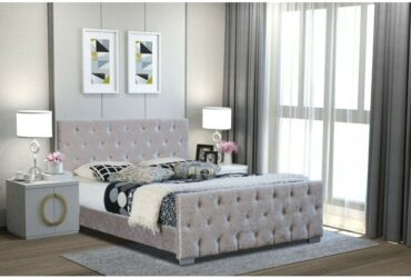 Diamante Upholstered Bed Frame