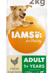 IAMS for Vitality Adult Large Breed With Fresh Chicken Dry Dog Food – 2kg By Iams