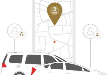 Fast and reliable minicab service at your finger tips