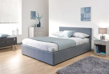 Risley Upholstered Ottoman Bed