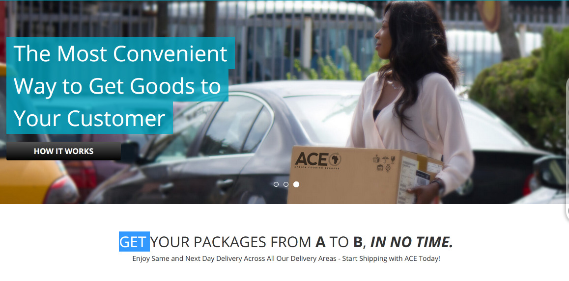 Enjoy Same and Next Day Delivery Across All Our Delivery Areas – Start Shipping with ACE Today!