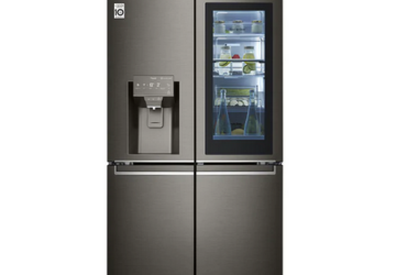 706L French Door Fridge, with InstaView Door-In-Door®, in Black Stainless Finish