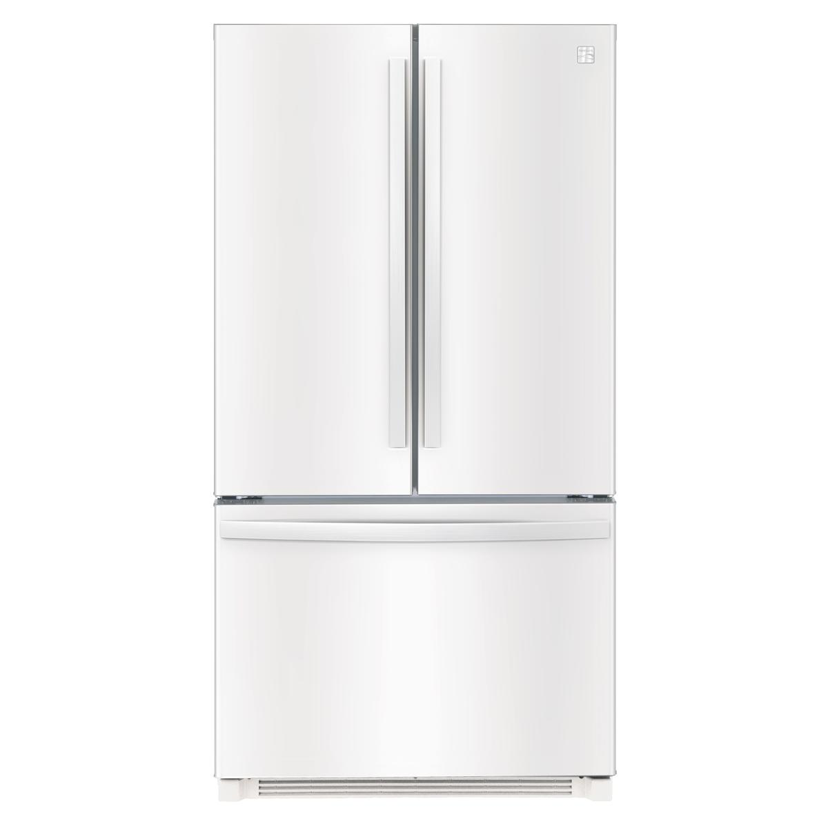 Kenmore 73022 26.1 cu. ft. French Door Refrigerator with Ice Maker – White