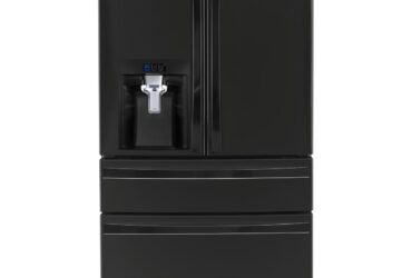 Kenmore Elite 72489 29.9 Cu. Ft. 4-Door Bottom-Freezer Refrigerator w/ Dispenser – Black