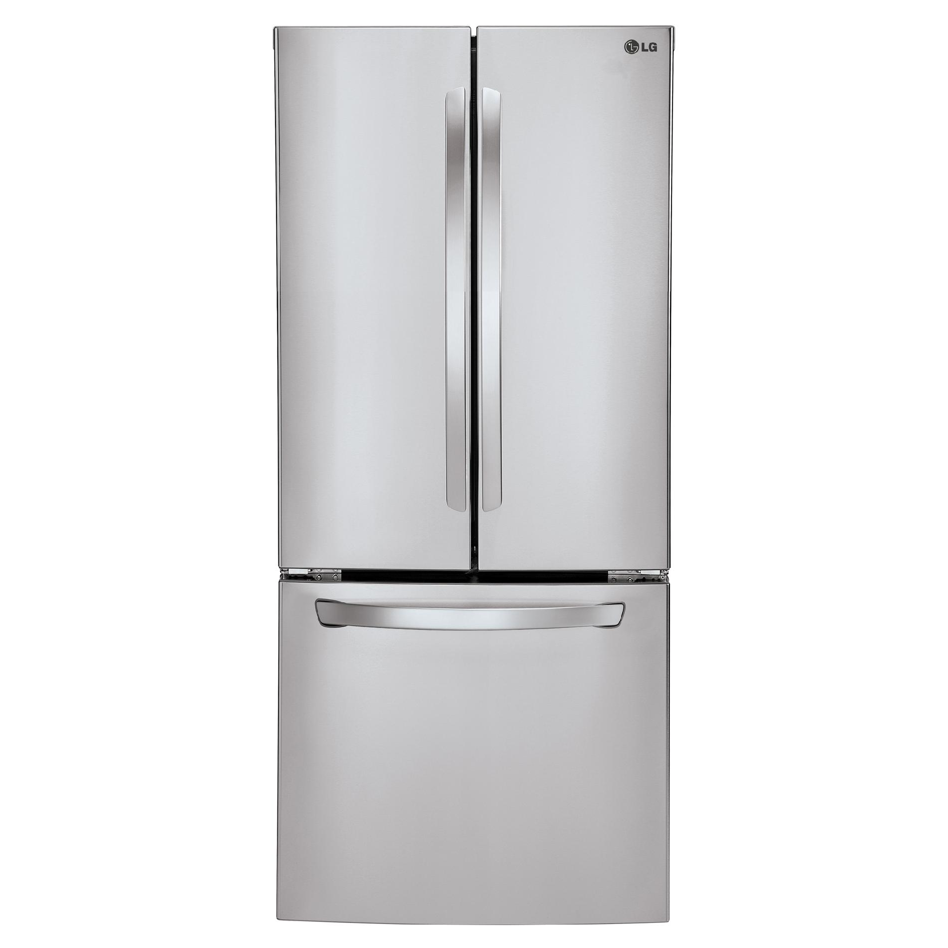 LG LFC22770ST 21.8 cu. ft. French Door Bottom-Freezer Refrigerator – Stainless Steel