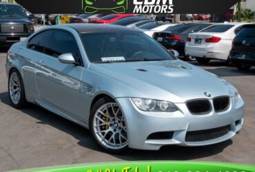 2009 BMW M3 6 SPEED MANUAL V8 W/ CLEAN CARFX