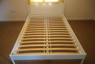 Double Bed Frame (Mattress can be available)