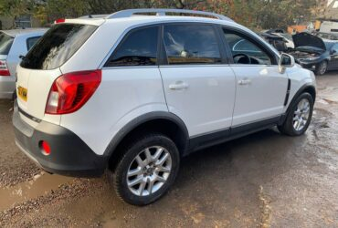 2012 Vauxhall Antara AUTOMATIC 71k m lightly damaged , 4×4 diesel