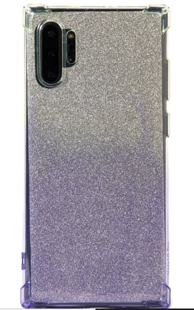GLITTER BOMB PURPLE AND GREEN PHONE CASE (IPHONE AND SAMSUNG)