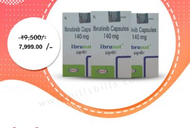 Buy Online Ibrunat 140 mg at Lowest Price in India