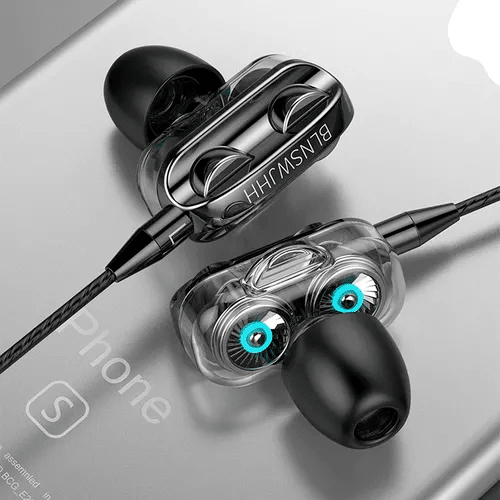 3.5mm In Ear Earphones Wired Sport Gaming Headset