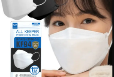 All Keeper KF94 Mask White FDA Approved Medical Mask 50pcs