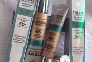 Cosmetic foundation creams