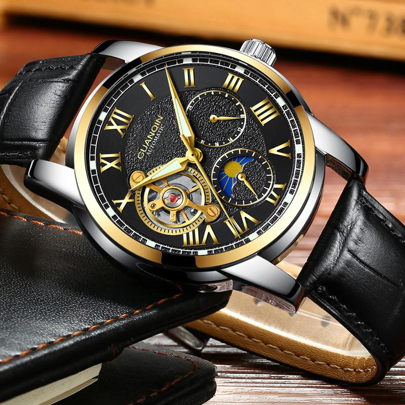 GUANQIN Men's Watches Top Brand