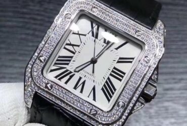Men Full Diamond Watch
