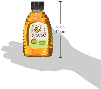 Rowse Organic Squeezable Honey 340 g