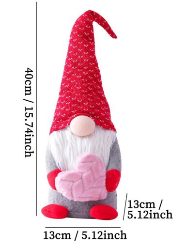 Best Valentine & Day Gift Large Gnomes Doll Decoration