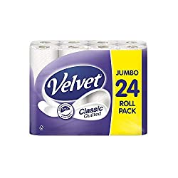 Triple Velvet Jumbo 24 Roll Pack