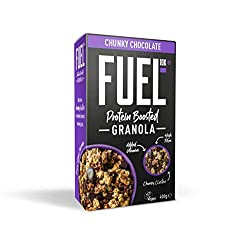 Fuel 10K Protein Boosted Chunky Granola Chocolate Loaded, 6 x 400g