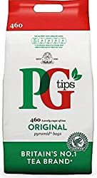 PG Tips Original Pyramid Tea Bags, Large Pack Of 460 Teabags,