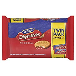McVitie's Digestive Biscuits Twin Pack, 2 x 400g