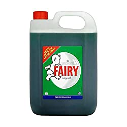 Fairy Liquid VPGFAL5 Washing Up Liquid 5 L ,Dishwashing, Washing Up Liquid ,