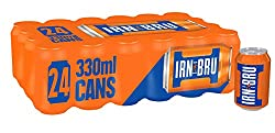 IRN-BRU Fizzy Drink Cans, 330ml (Pack of 24)