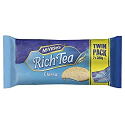 McVitie's Rich Tea Biscuits Twin Pack, 2 x 300g