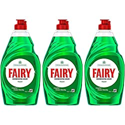 Fairy Original Washing Up Liquid 433g Pack of 3