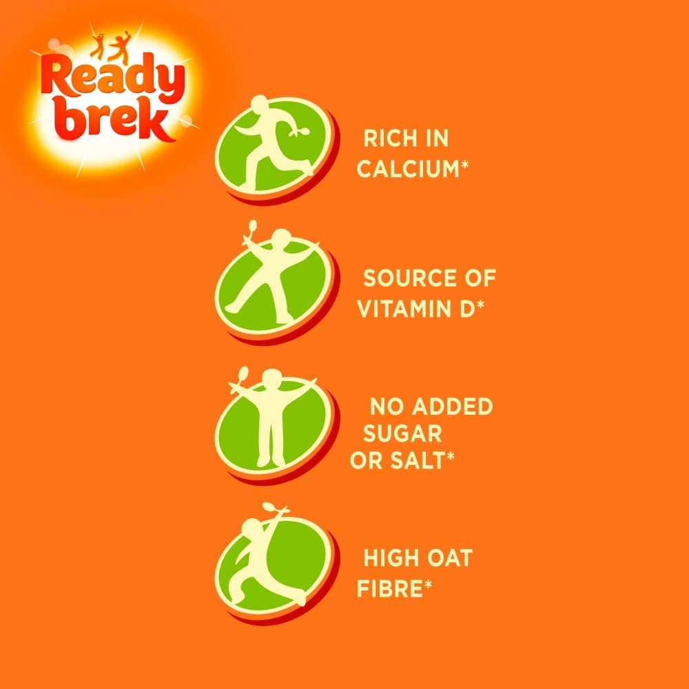 Roll over image to zoom in Ready Brek Smooth Porridge Oats, 8 x 30g