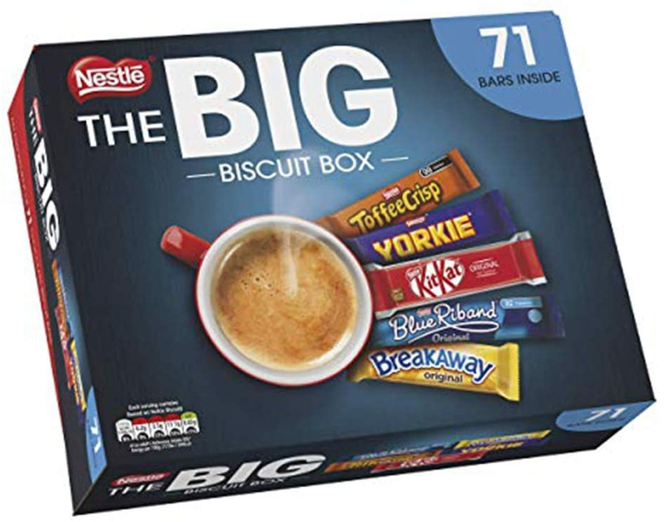 NESTLE The Big Biscuit Box, Chocolate Biscuit Bars x71